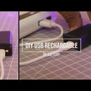 How to Make USB Rechargeable 9V Li-ion Battery