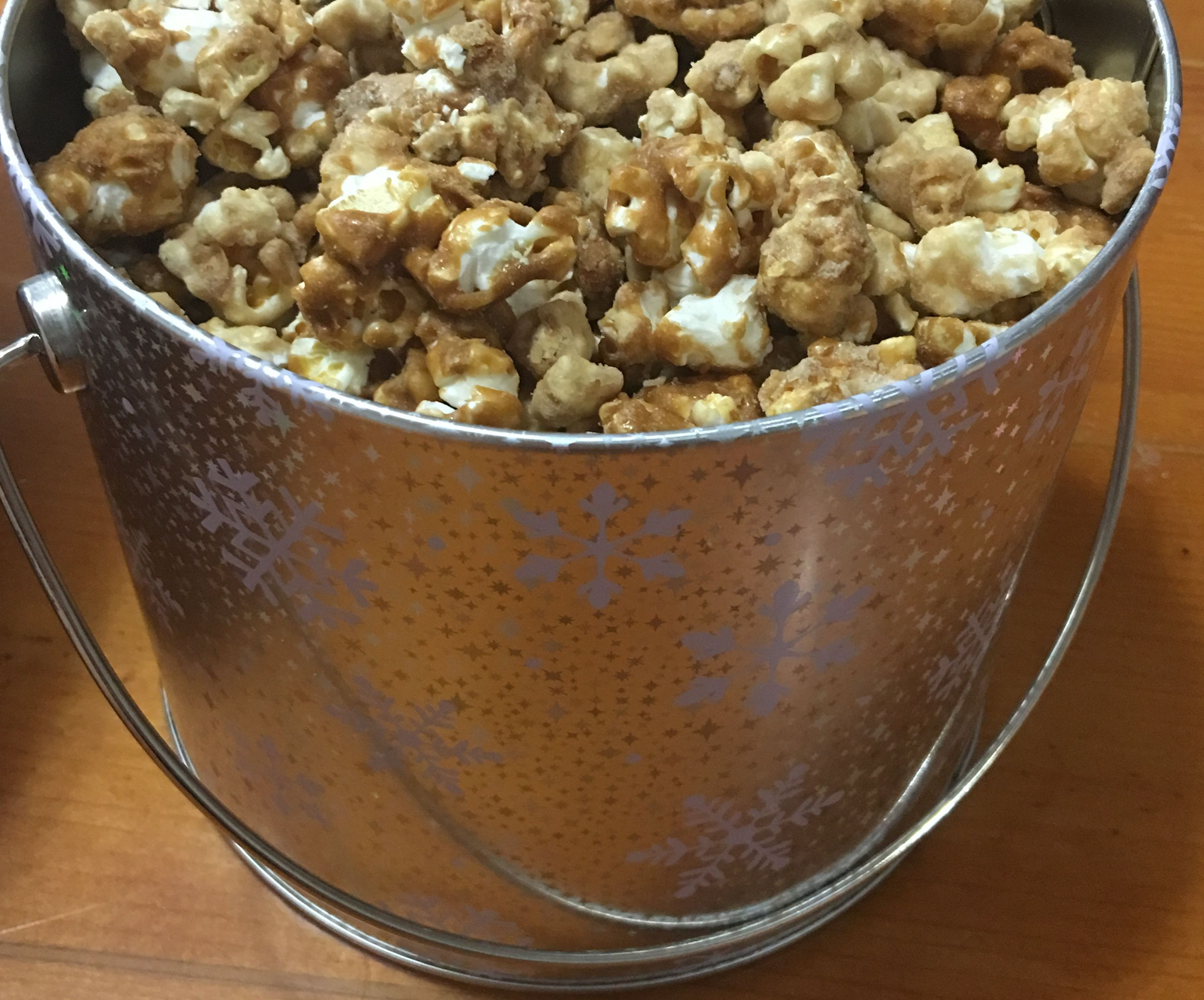 Baked Carmel Popcorn (Without Corn Syrup)