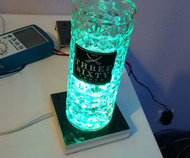How to Build an Awesome Glowing Bottle Coaster