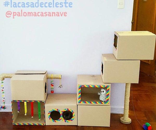 Celeste´s Cardboard Playground