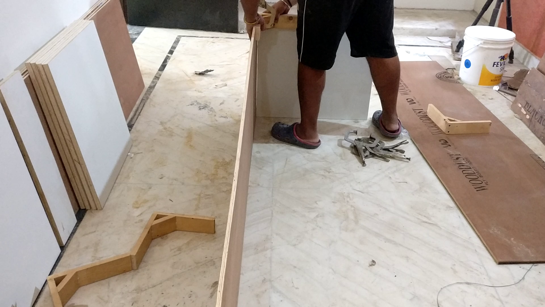 Material Cutting and Making Boxes
