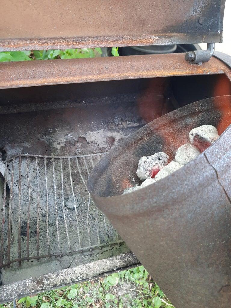 Prepare Grill and Smoker.