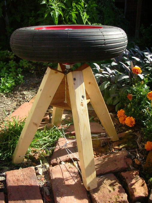 Wheel Stool