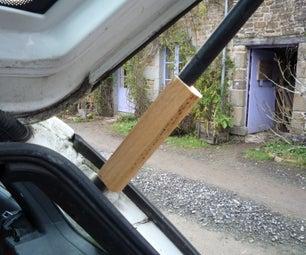 Pallet Wood for Car Repair  - Tail Gate Gas Strut Fail
