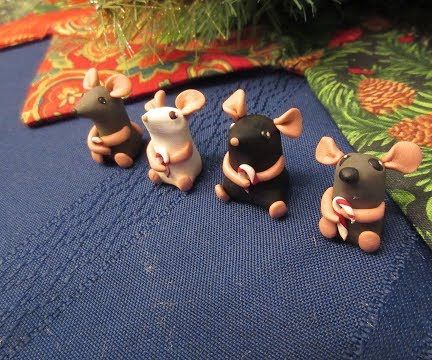 Adorable Polymer Clay Mice