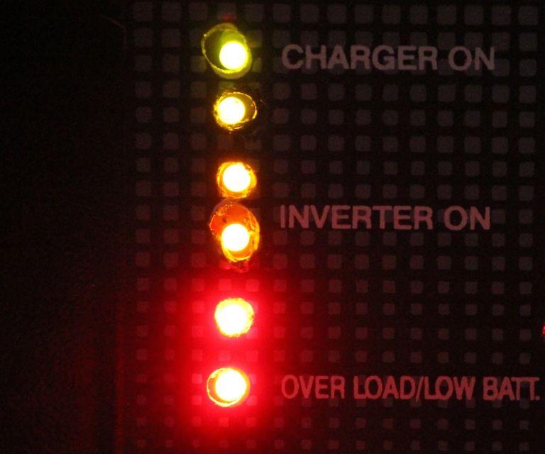 12 V Battery Level Indicator