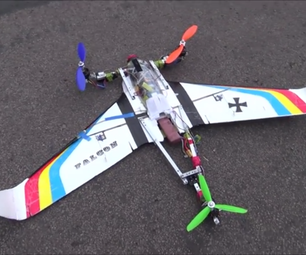 How to Make a Multirotor or Hybrid With a Laser Cutter or a Vacuum Former