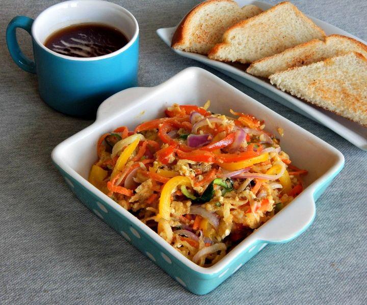 Baked Vegetable Noodles