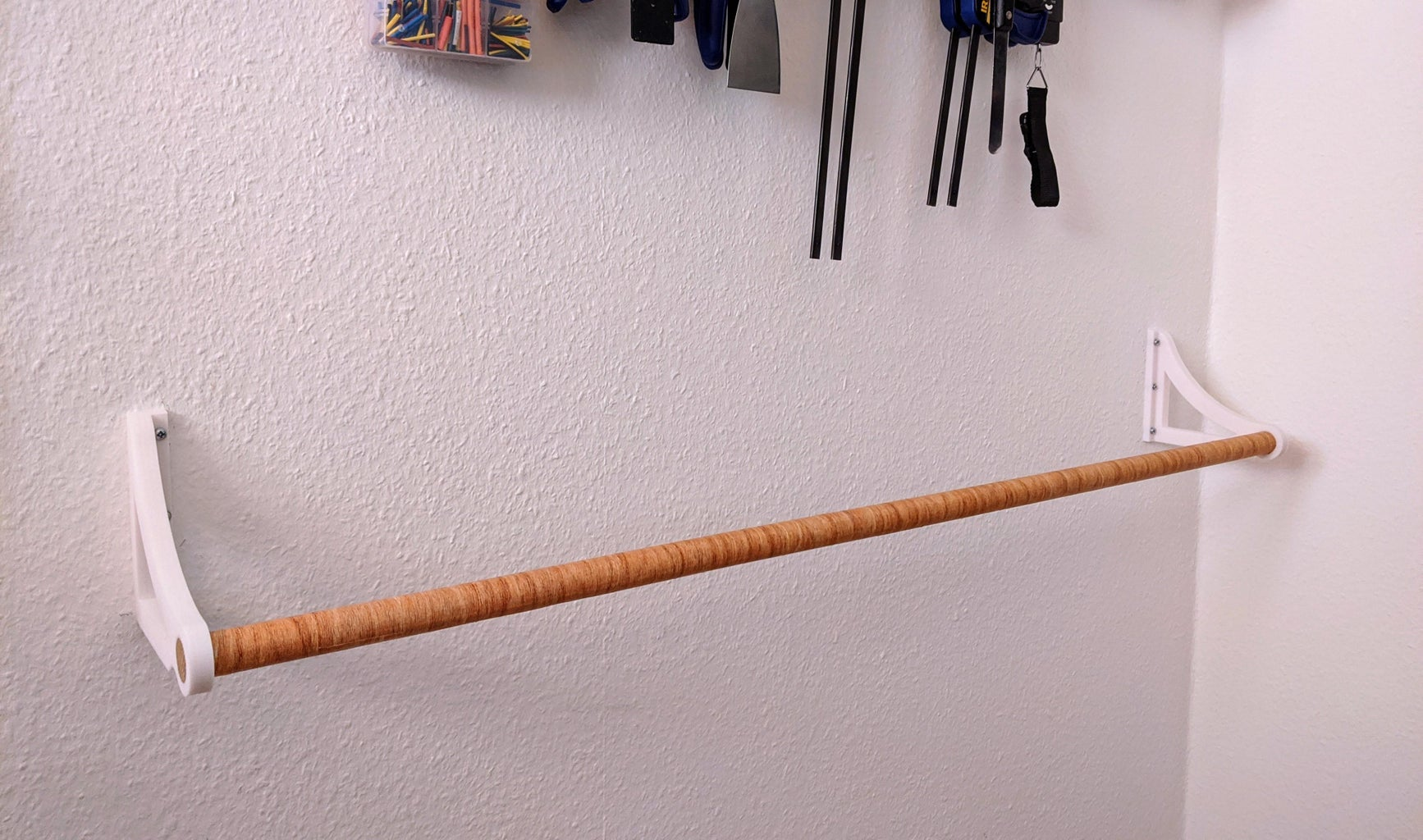 Install the Wooden Rod
