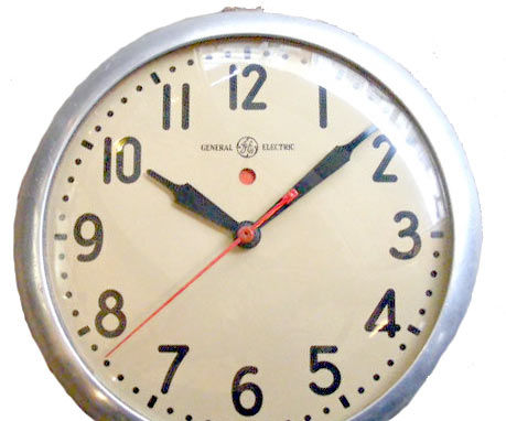 Adapt a Vintage Electric Wall Clock to a Battery Powered Movement Using the Original Clock Hands