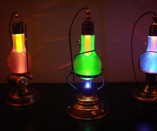 """Cold lights - or """" The Lavendel Cold Light Trilogy """""""