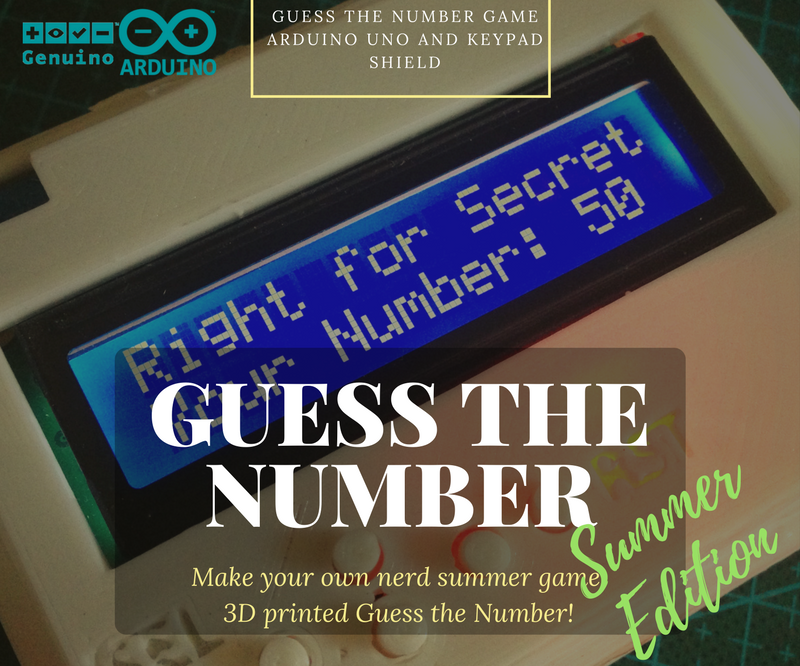 Guess the Number With Arduino KeyPad
