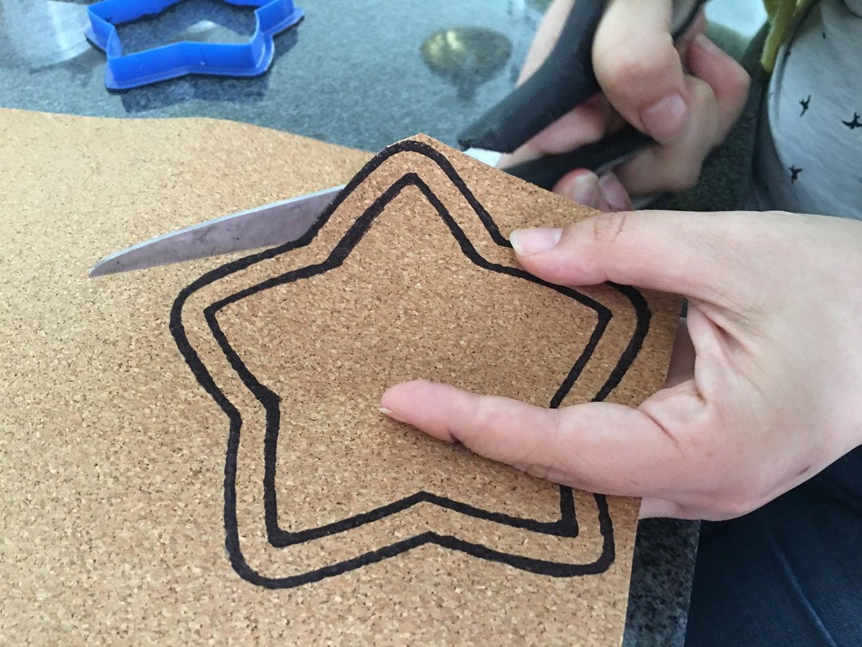 Cut Cork Boardsheet