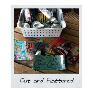 Cut and Flatten Cans