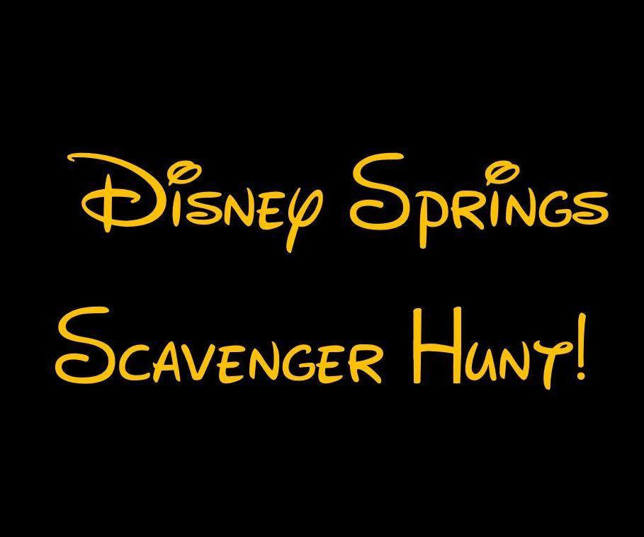 Disney Springs Scavenger Hunt