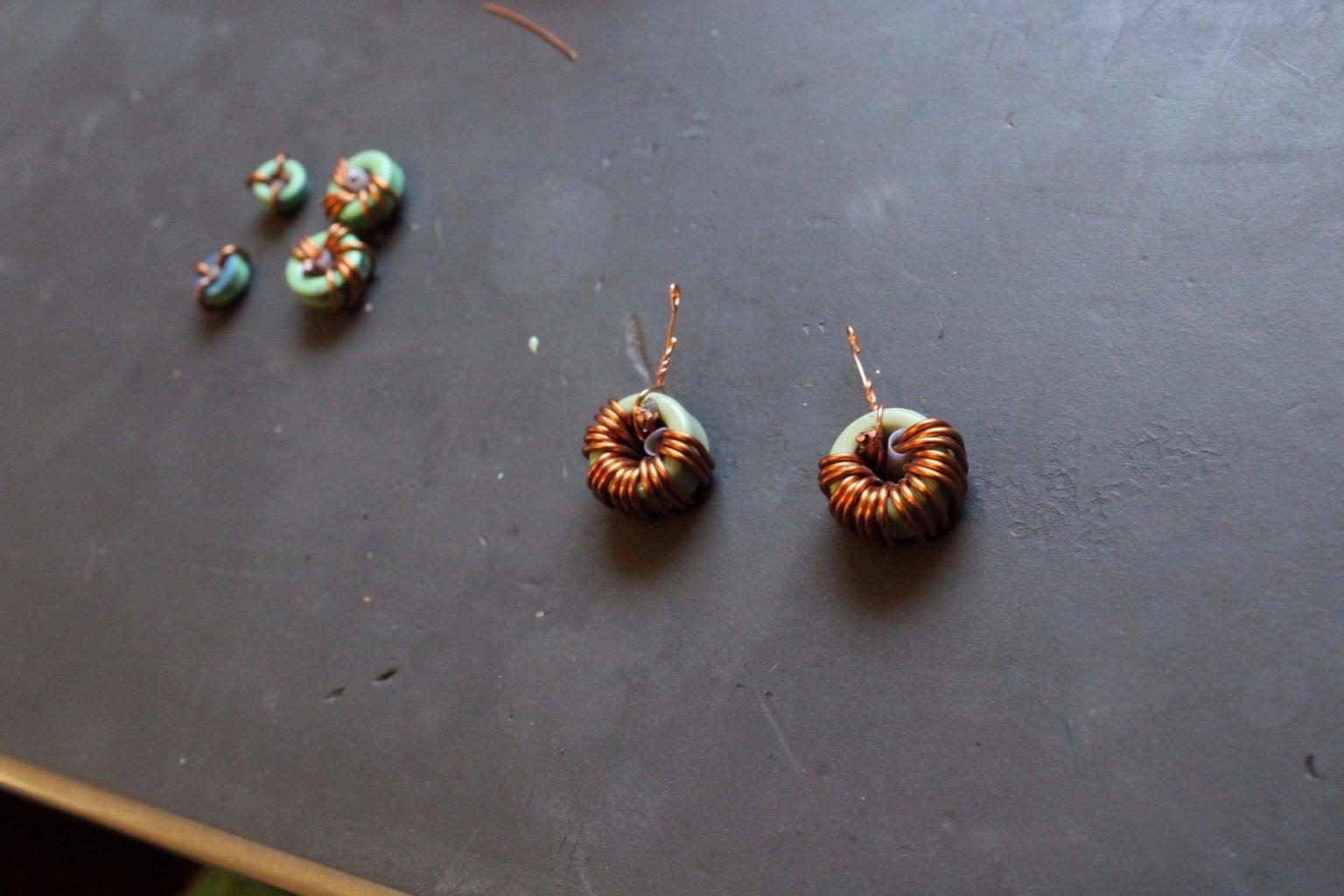 Simple Inductor Earrings