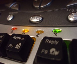 Change the Led's From Your Keyboard