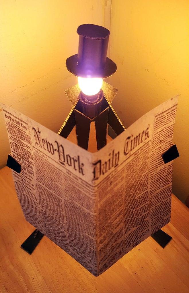 Reading MAN Lamp