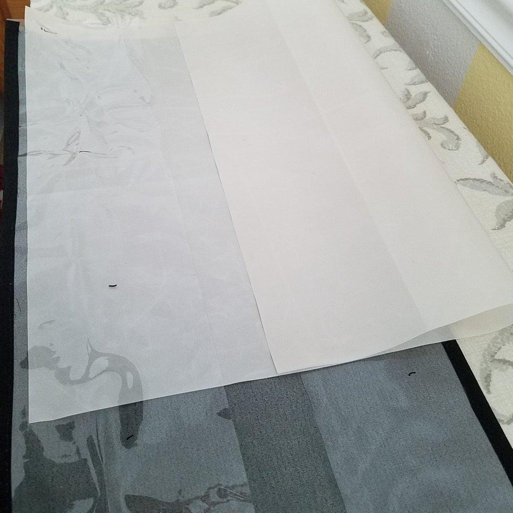 Sew Vinyl Strip Window in Place