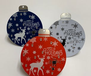 Holiday Ornament PCB