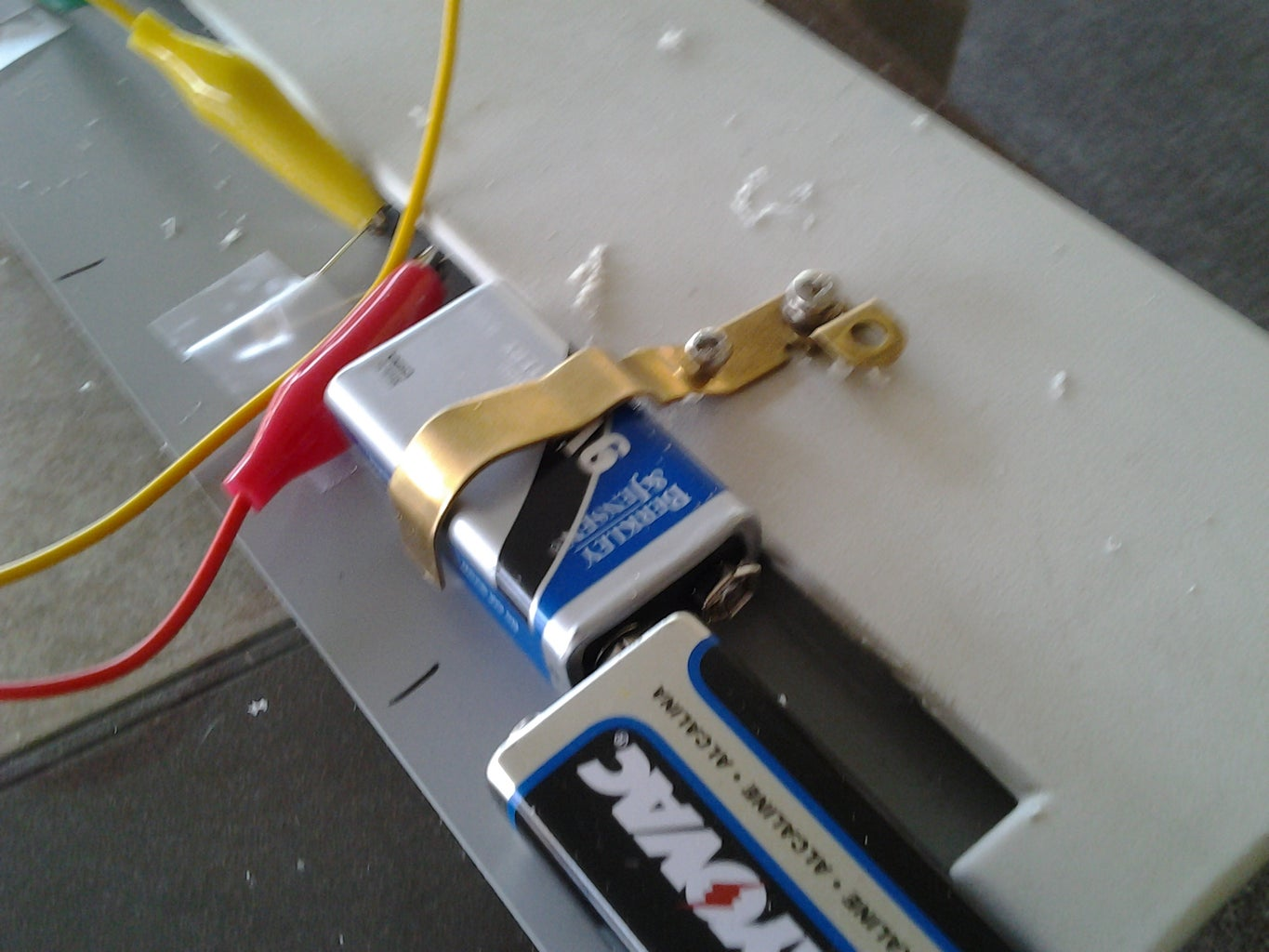 Create Battery Mounting Bracket and Marker Holder