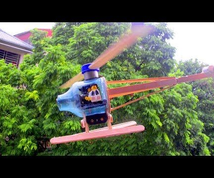 How to Make Awesome Electrical Fighting Helicopter