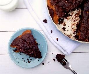 Caramel & Chocolate Tart Cake