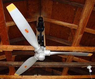 Airplane Propeller Ceiling Fan