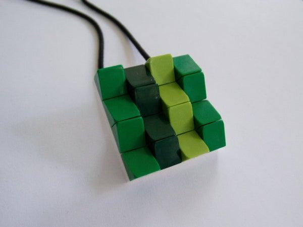 Lego Cheese Slope Pendant