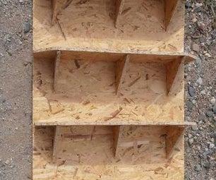 Shed Shelves From OSB / Aspenite