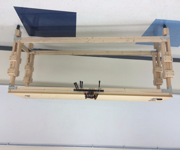 Build an Adjustable Stand Up Workbench