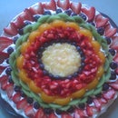 Cheesy Fruit Tart