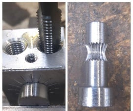 CARVE WORM GEAR by Hand