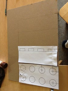 Trace Onto Cardboard & Cut Out