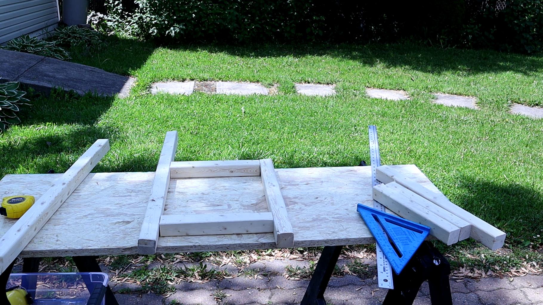 Build the Chair Frame