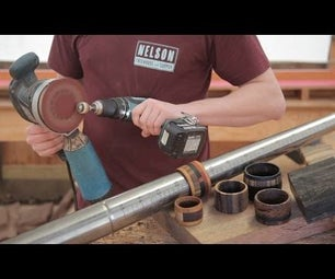 Wood Ring - Quick & Easy (With Limited Tools! NO Drill Press, Lathe, Bandsaw, or Router Needed)