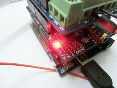 Control the LED Via SMS.