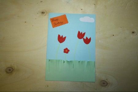Meadow - Themed Card