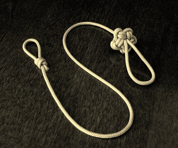 How to Tie a Single Strand Star Knot