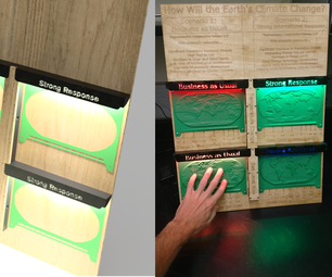 CNC Data Maps for a Kinesthetic Climate Change Exhibit