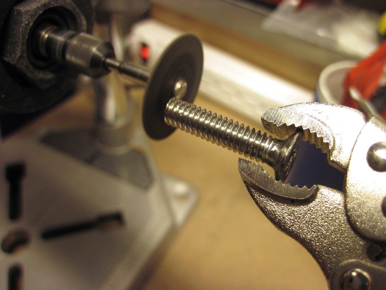 Machine the Screws!
