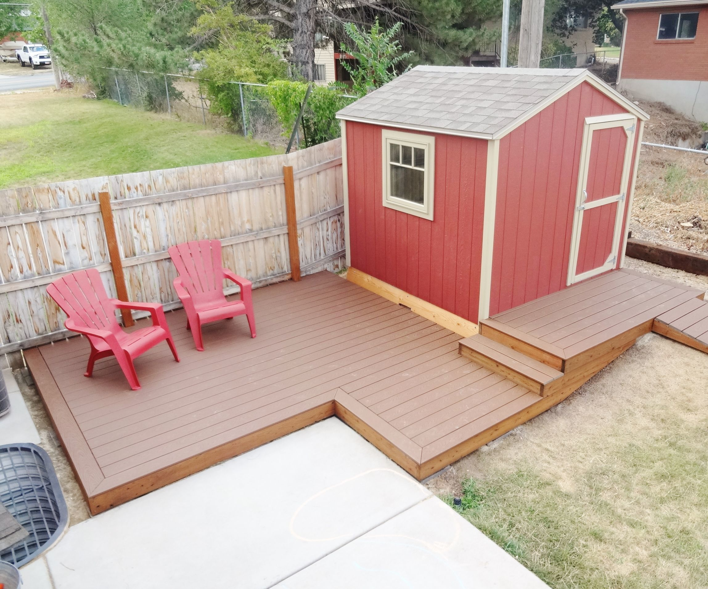 Build A Floating Deck 13 Steps With Pictures Instructables