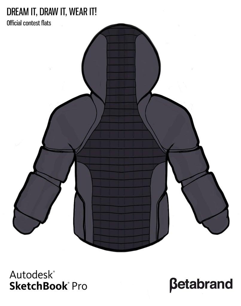 Detailed Description of Hoodie [Back]