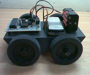 Cellphone Operated Robot