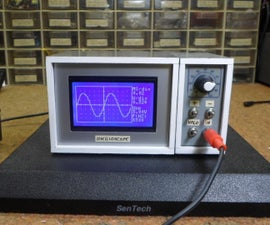 DIY 10Hz-50kHz Arduino Oscilloscope on 128x64 LCD Display