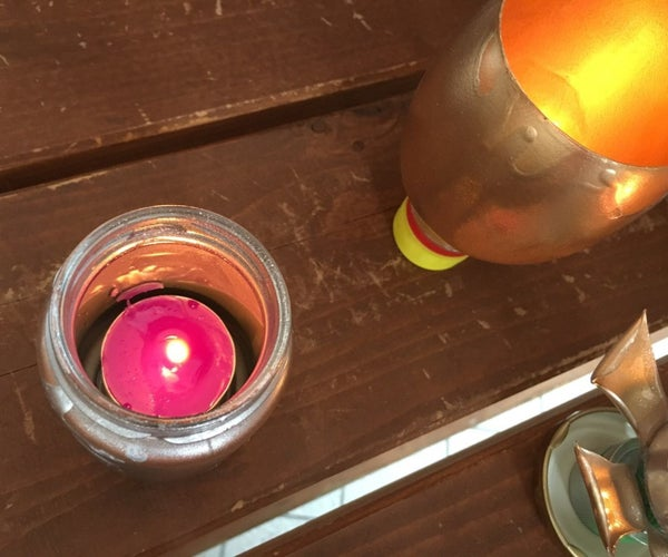 How to Make Fashionable Candle Stands