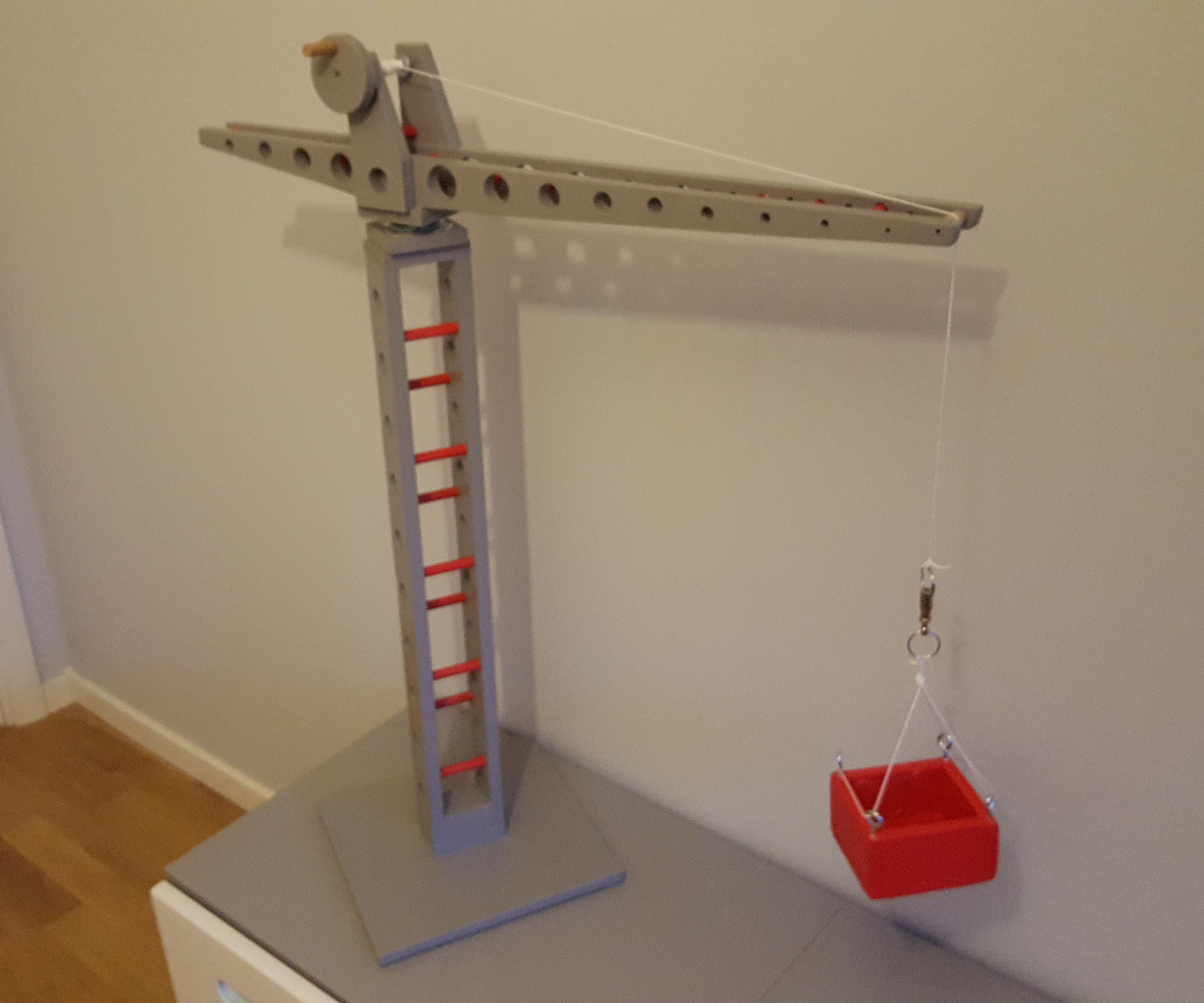 Zacks Toy Crane (with Plans)