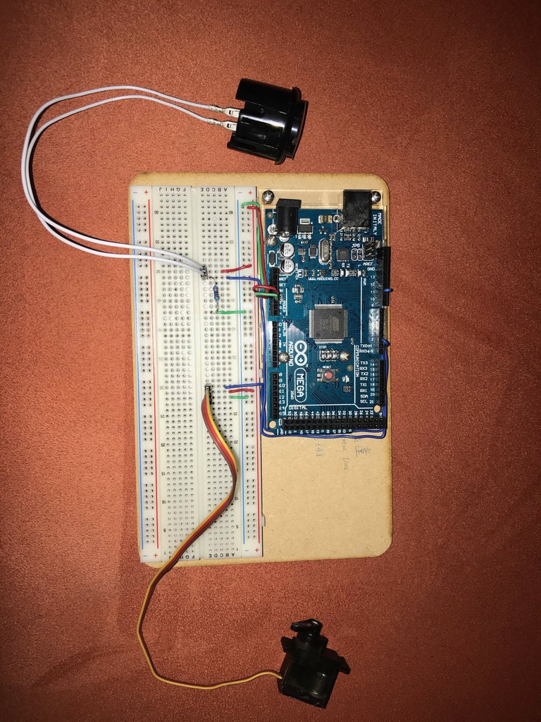 Step 2: Build Up the Arduino Board