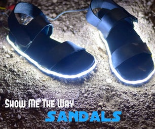 Show Me the Way : Sandals
