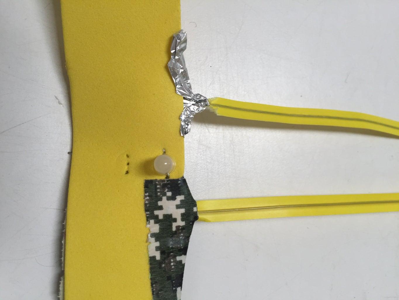 Connect Twist Tie to Foam Part 2